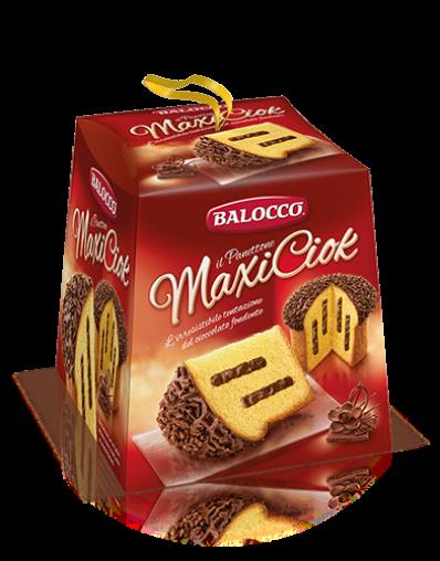 BALOCCO PANETTONE MAXICIOK 800g