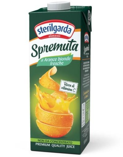 Frissen facsart narancslé 100%-os 1000ml Sterilgarda