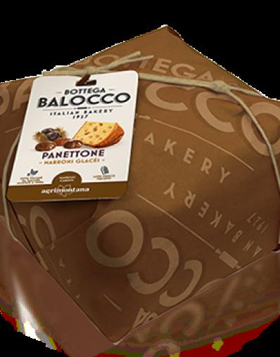 BALOCCO PANETTONE MARRON GLACÉS