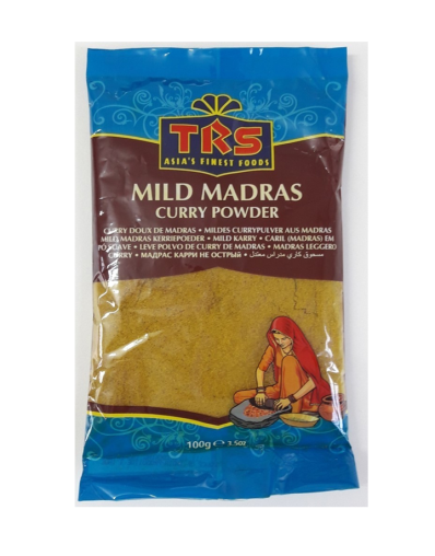 MADRAS CURRY POR 100g