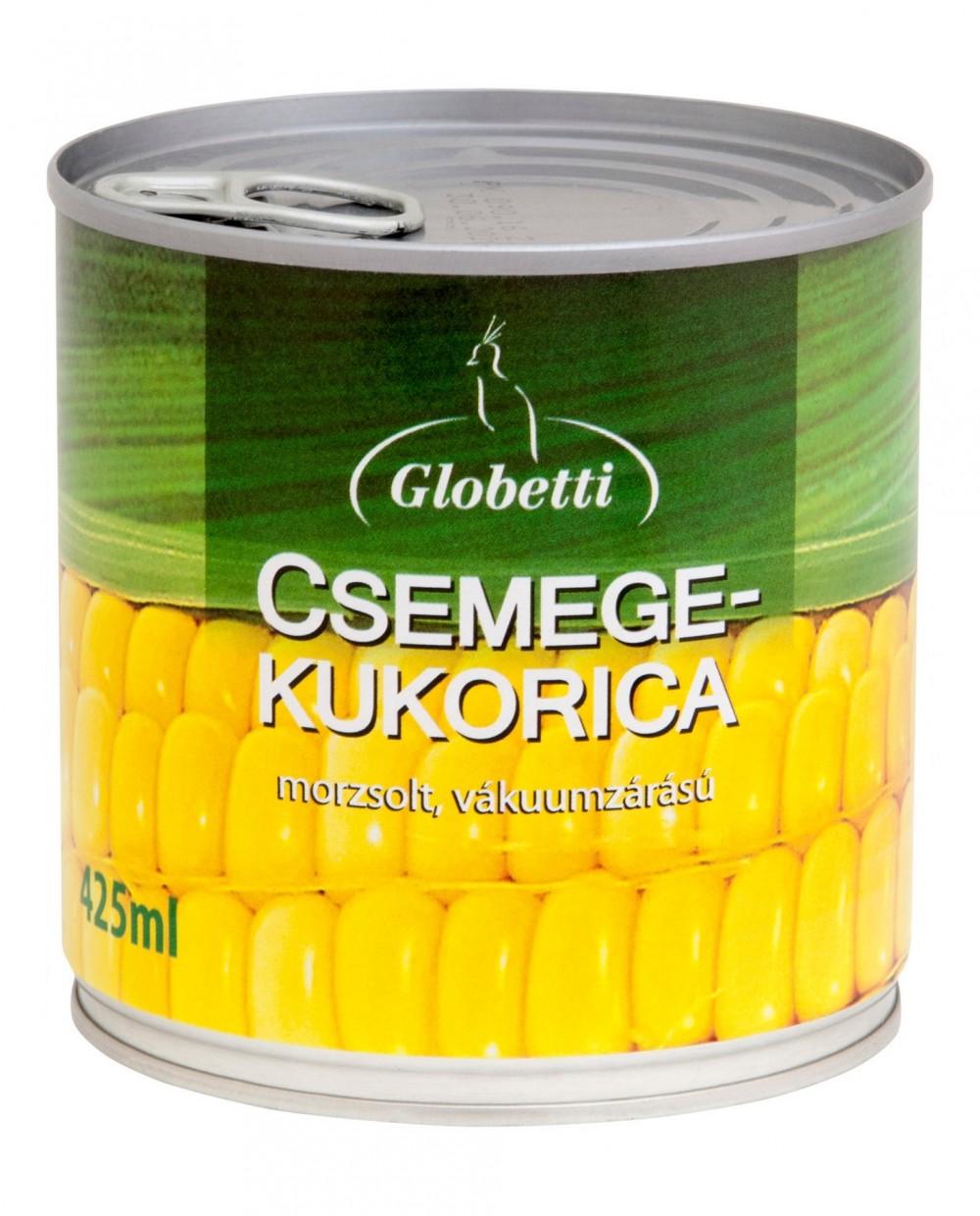 MORZSOLT CSEMEGE KUKORICA GLOBETTI 340G