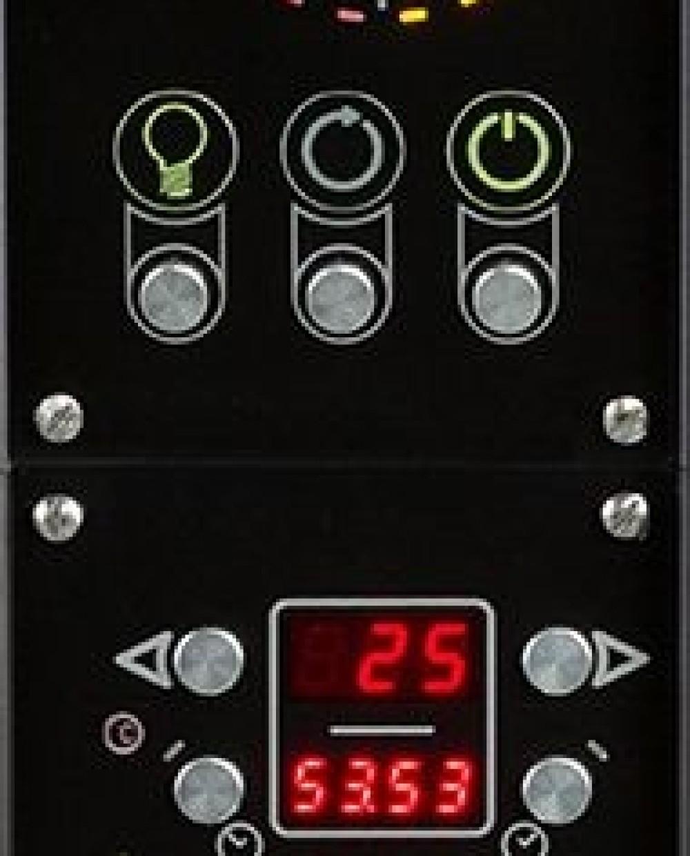 Fornitalia Black Line BL 125/70 moduláris pizzasütő
