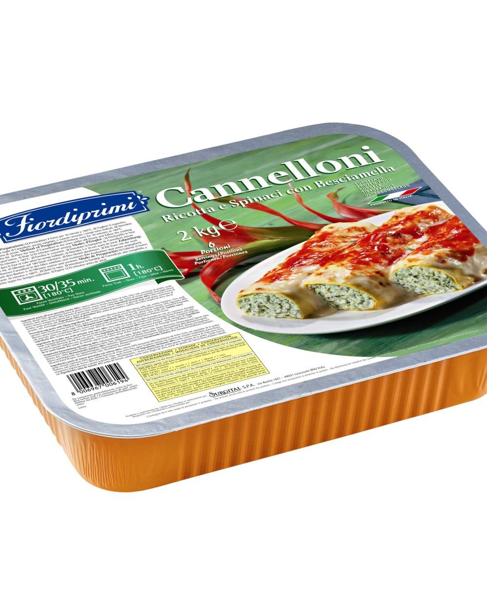 CANNELLONI RICOTTA-SPENÓT 2kg