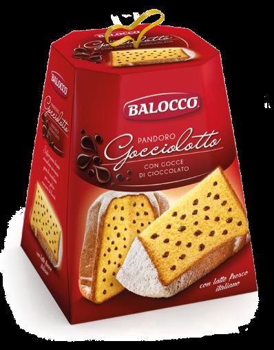 BALOCCO PANDORO GOCCIOLOTTO 800g