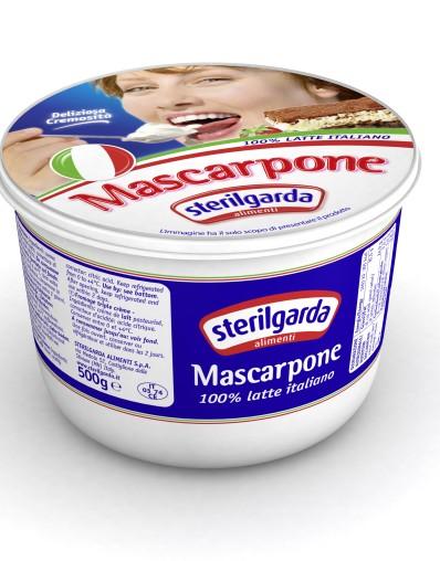 Mascarpone Sterilgarda 500g