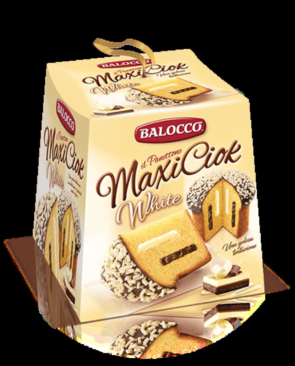 BALOCCO MAXICIOK WHITE 800 GR
