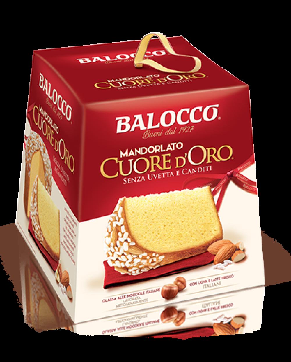 BALOCCO MANDORLATO CUORE D'ORO 1 KG