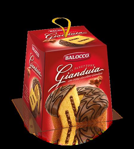 BALOCCO PANETTONE GIANDUIA 800G