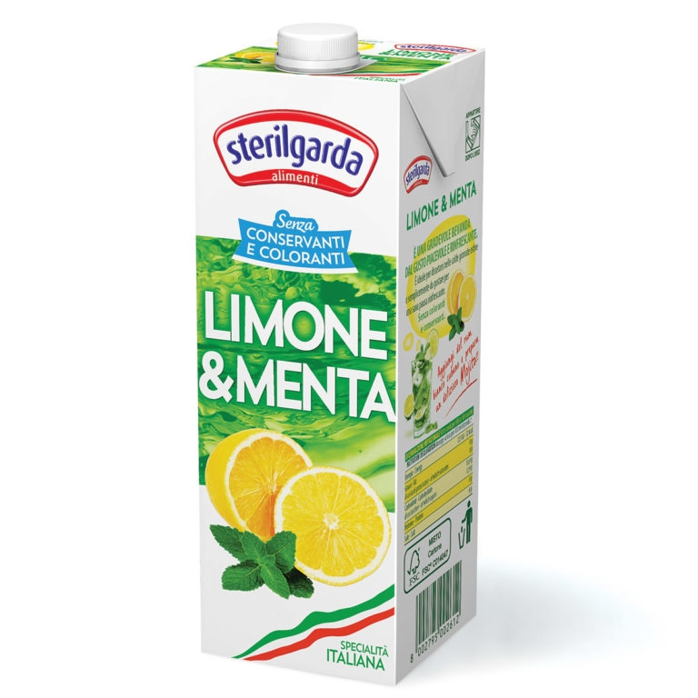 Menta-citrom juice 1000ml Sterilgarda