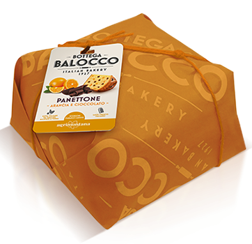 BALOCCO PANETTONE ARANCIA E CIOCCOLATO