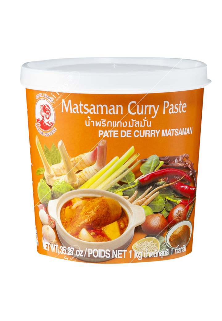 CURRY PASTE MASSAMAN 1Kg.