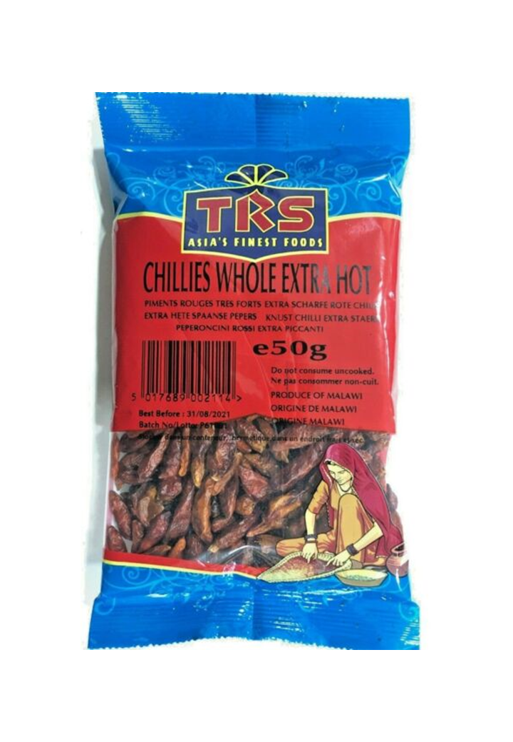 Chili Egész 50gr.