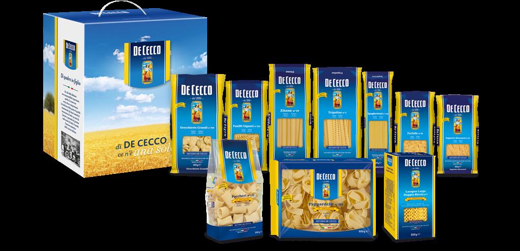 De Cecco Speciale Tésztaválogatás 5 kg-10x500 gr