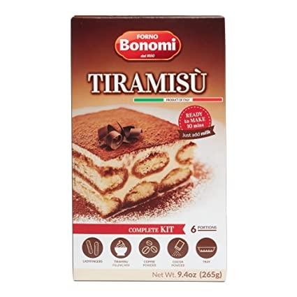 TIRAMISU KOMPLETT SZETT 265g