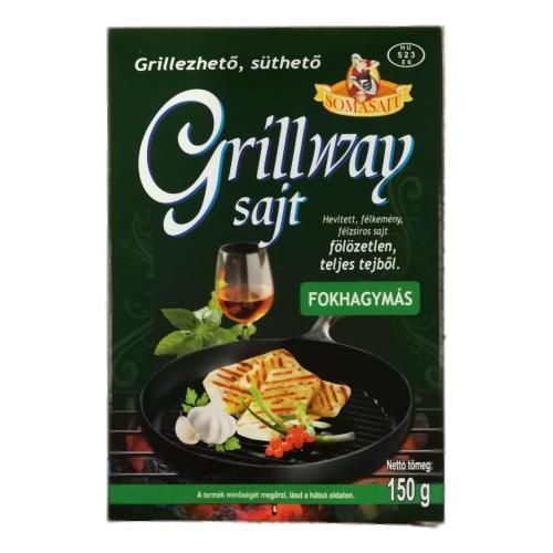 GRILLWAY FOKHAGYMÁS SAJT 150 g