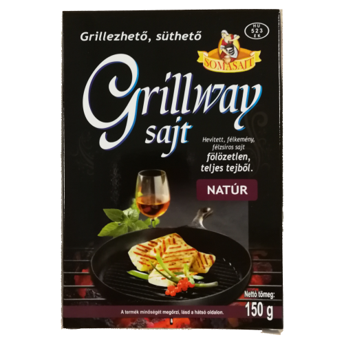 GRILLWAY NATÚR SAJT 150g