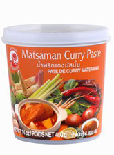 CURRY PASTE MASSAMAN 400G