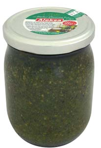 PESTO GENOVESE üveges 500GR