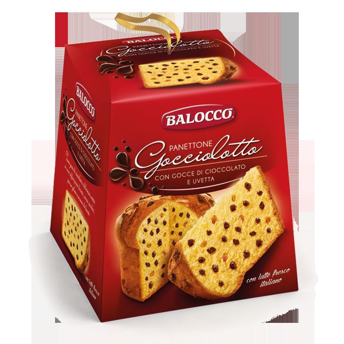 BALOCCO PANETTONE GOCCIOLOTTO 800g