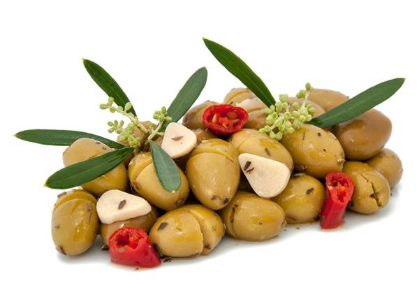 ZÖLD OLIVABOGYÓ fűszerezett etna 4000g