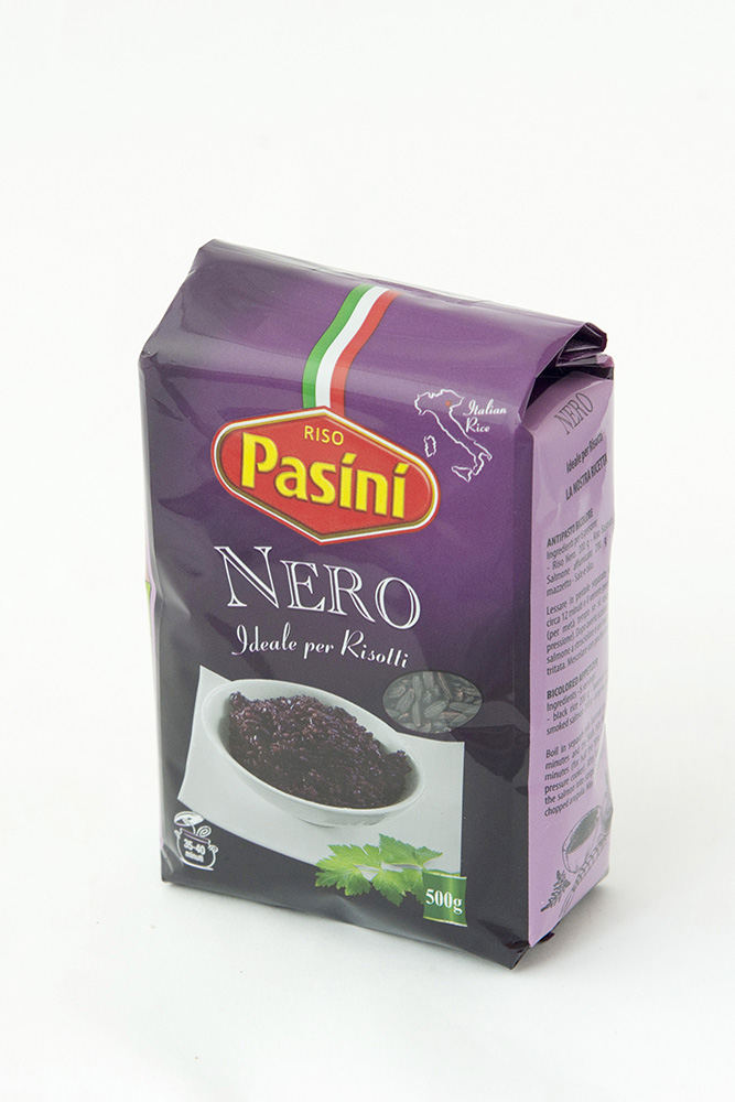 PASINI NERO RIZS 500g